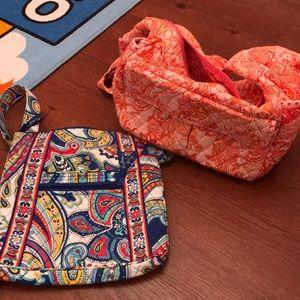 Two Vera Bradley bags